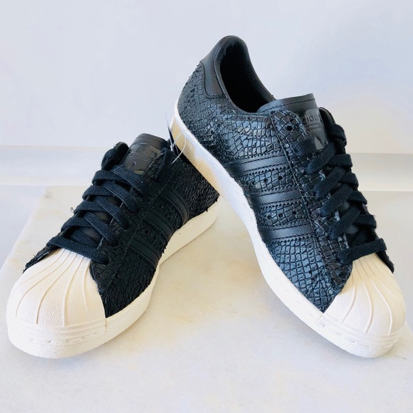 b7db839fb32 adidas Shoes - New! Adidas Superstar 80s Shell Toe Snake Leather